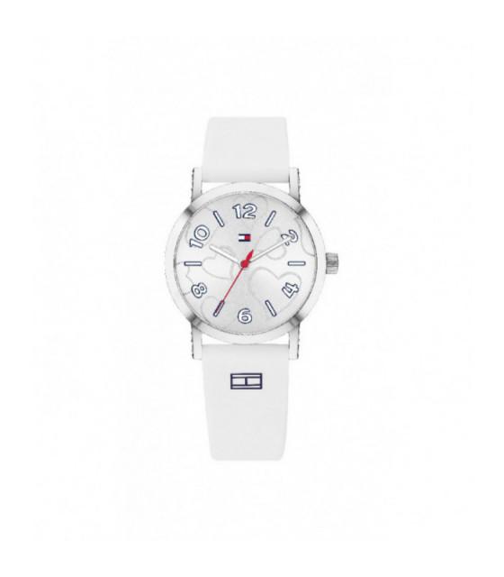 Reloj Tommy Hilfiiger Niña Silicona Blanca - 1782044