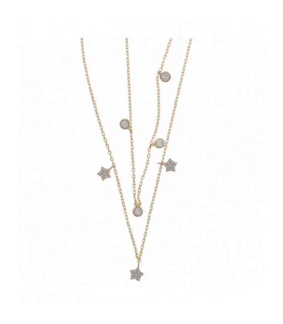 Collar Salvatore Estrellas Circonitas - 164C0058